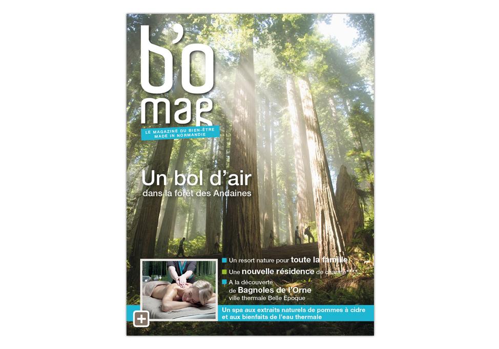 Agence Place des Victoires Communication - BO Resort - couverture magazine