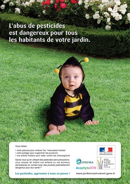 Agence Place des Victoires communication - Onema - Campagne écophyto - Publicité presse
