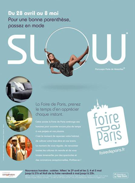 Place des Victoires communication - Foire de Paris - Publicité - visuel mode