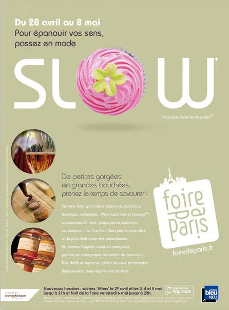 Place des Victoires communication - Foire de Paris - Publicité - visuel saveurs