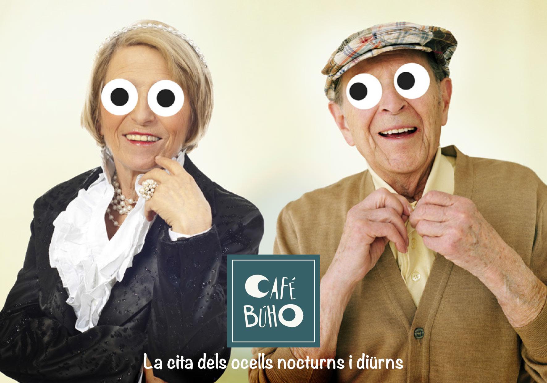 Place des Victoires Communication - Café Buho - Publicité - visuel seniors