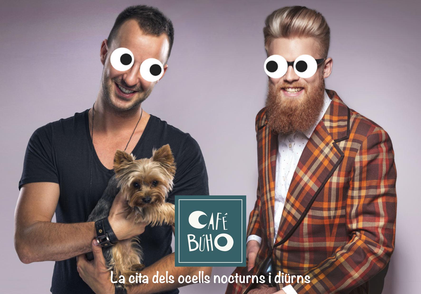 Place des Victoires Communication - Café Buho - Publicité - visuel hommes