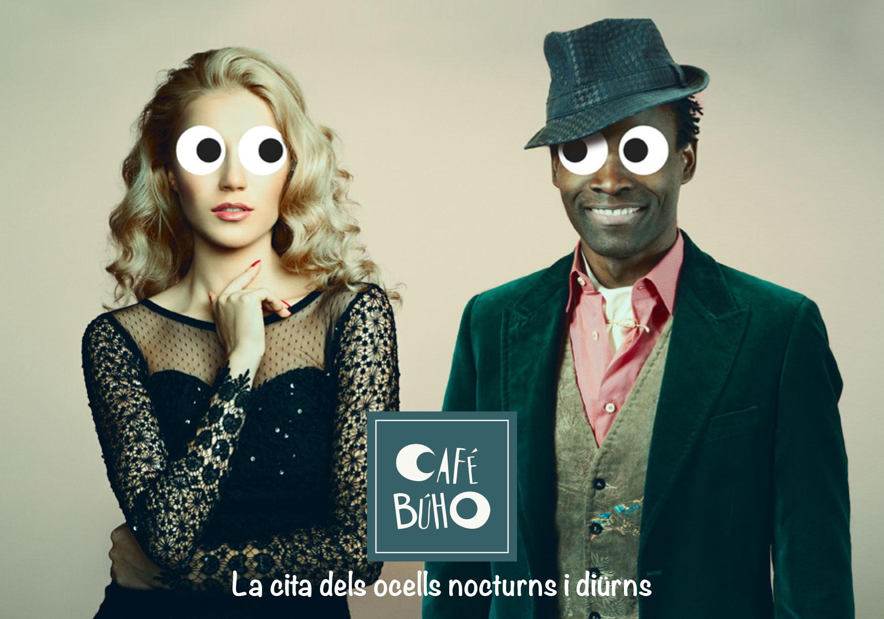 Agence Place des Victoires Communication - Café Buho - Publicité - visuel couple