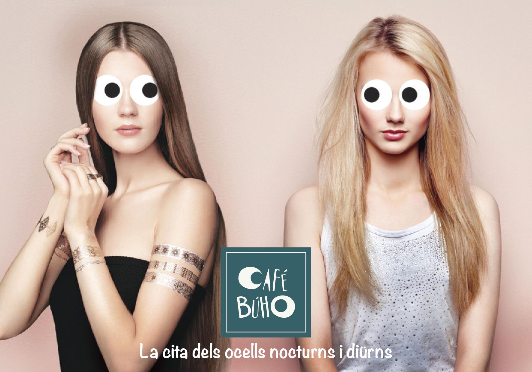 Place des Victoires Communication - Café Buho - Publicité - visuel femmes