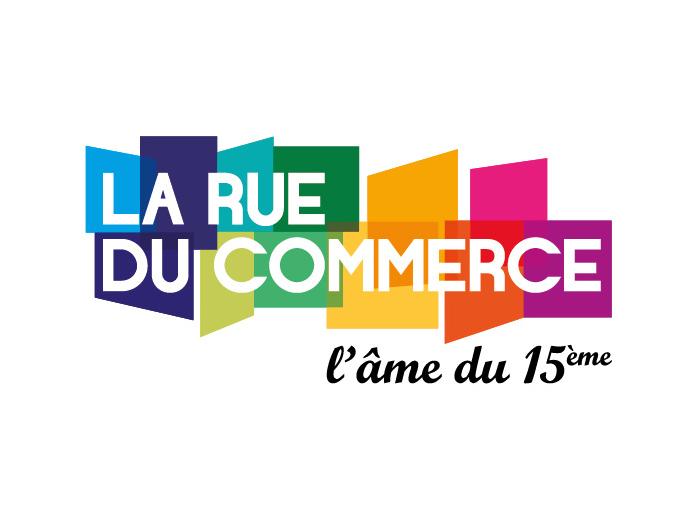 ASSOCIATION DES COMMERCANTS DE LA RUE DU COMMERCE – Identité de marque et communication commerciale.