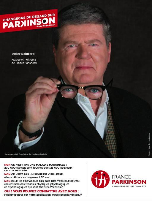 France Parkinson Publicité Presse Annonce Didier Robiliard